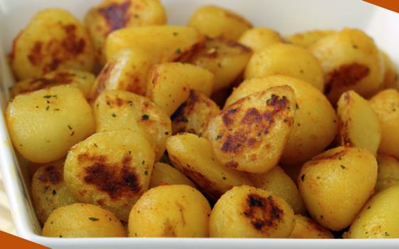Patate rosolate ai profumi dell'orto